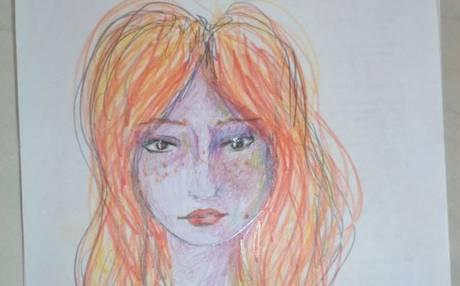 Mujer+realiza+autorretratos+antes+y+después+de+consumir+LSD